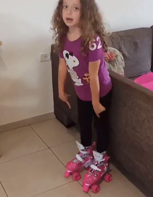גלגיליות לילדים מאמזון סקטים 4 גלגלים