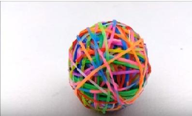 כדור קופצני יצירות לילדים