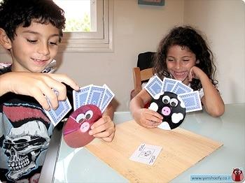 מחזיקי קלפים DIY