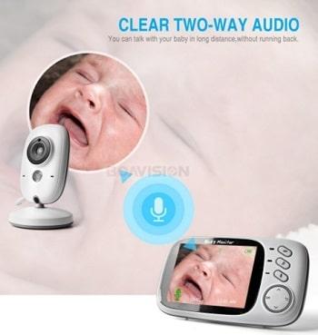 מוניטור לתינוק עם וידאו מצלמה