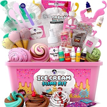 ערכה להכנת סליים גלידה בזול