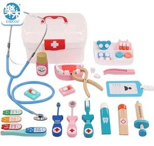 צעצוע רופא וחולה מעץ לפעוטות המומלצים של עלי אקספרס