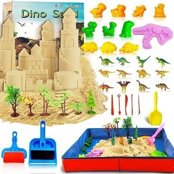 ארגז חול קינטי דינוזאורים אמזון