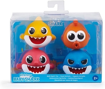 מארז צעצועי אמבטיה בייבי שארק
