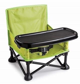 כסא אוכל מתקפל לתינוק לקמפינג