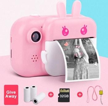 מצלמת פיתוח מיידי לילדים