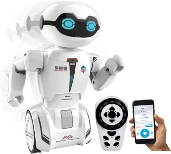 רובוט עם שלט ואפליקציה לילדים