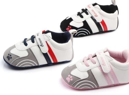 נעלי תינוקות מבד