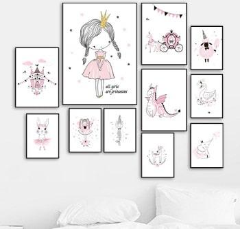 עיצוב נורדי חדר ילדים