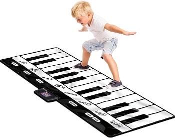 משטח קלידים פסנתר ענק לילדים