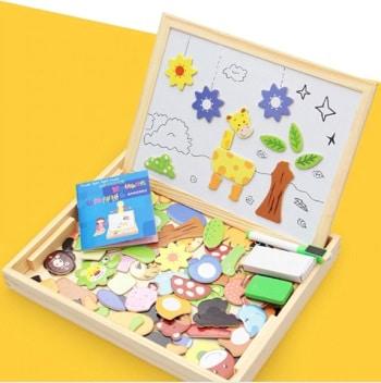 קופסת מגנטים מתנה לגיל שלוש וגיל ארבע