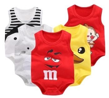 בגדי גוף לתינוקות לקיץ