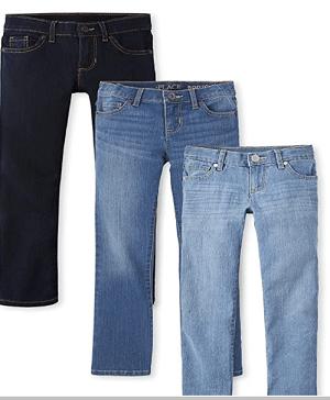 ג'ינסים לבנות של צ'ילדרנז פלייס במבצע