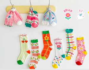 גרביים לתינוקות וילדים אלי אקספרס