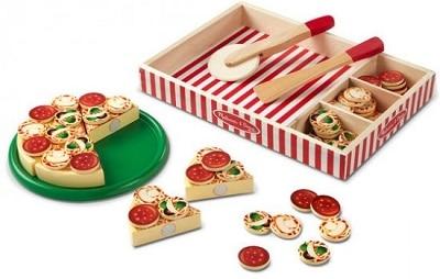 מסיבת פיצה מעץ של מליסה ודאג
