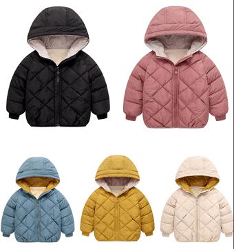מעיל חורף לילדים בגיל שלוש עד שבע