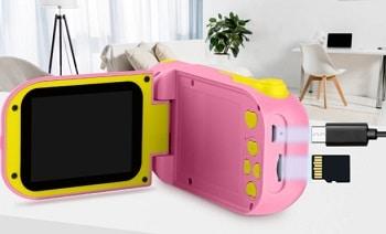 מצלמת וידאו לילדים קטנים