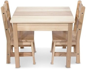 שולחן וכסאות לפעוטות