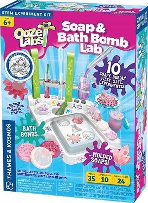 ערכת פצצות אמבטיה וסבונים