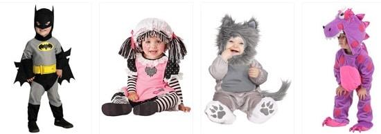 תחפושות לתינוקות ופעוטות