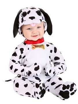 תחפושת כלב דלמטי לתינוקות