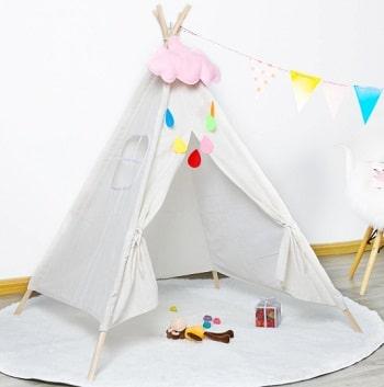 אוהל טיפי לחדר ילדים נורדי