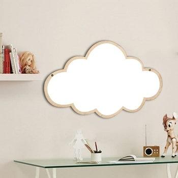 מראה בצורת ענן סגנון נורדי
