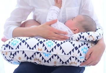 כרית הנקה עם תמיכה לראש התינוק