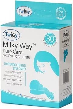 שקיות אחסון חלב אם