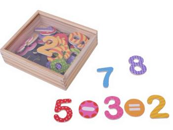 מספרים מגנטיים לילדים