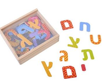 משחק אותיות מגנטיות לילדים