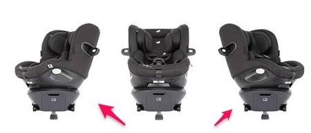 כיסא בטיחות מסתובב לרכב