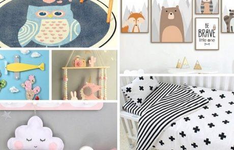 עיצוב חדר ילדים נורדי במחירים הכי שווים עם אלי אקספרס (המלצות 2020)