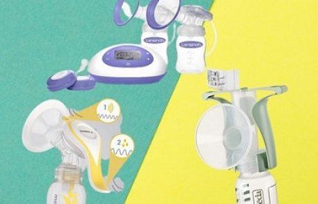 9 משאבות חלב אם מומלצות (ידניות וחשמליות) ב-2021