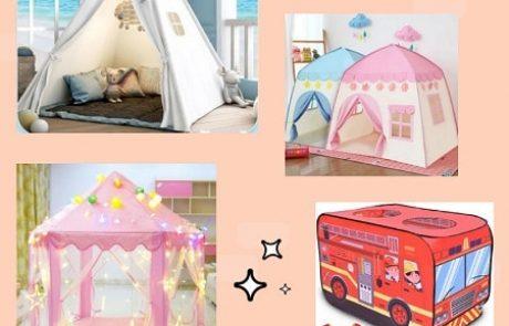אוהל לחדר ילדים: 15 המלצות לאוהלי טיפי/אוהלים מתקפלים לילדים